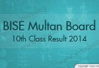 BISE Multan Board 10th Class Result