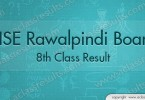 8th Class Result 2016 Rawalpindi Board