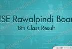 Rawalpindi Board 8th Class Result 2018