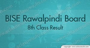 Rawalpindi Board 8th Class Result 2018
