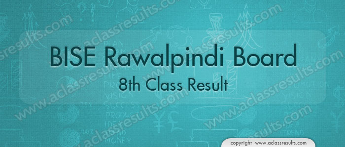 Rawalpindi Board 8th Class Result