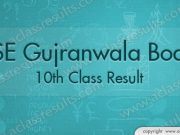 Gujranwala Board 10th Result 2018