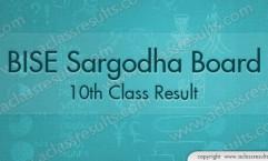 Sargodha Board 10th Result 2018