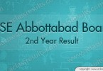 2nd Year Results abbottabad Board 2015