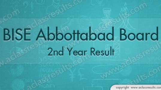 2nd Year Results abbottabad Board 2018