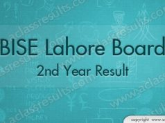 Lahore Board 2nd Year Result 2018