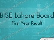 First Year Result lahore