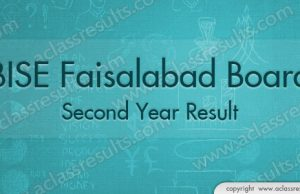 2nd Year Result Faisalabad board