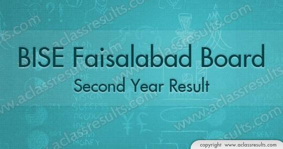 2nd Year Result Faisalabad board