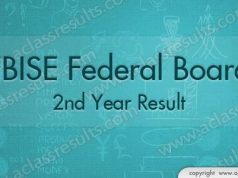 2nd year result federal board