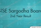 2nd Year Result Sargodha board