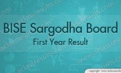 First Year Result 2016 Sargodha board