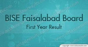 First Year Result Faisalabad Board 2018