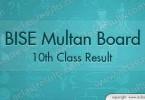 Multan Board Matric Result 2018