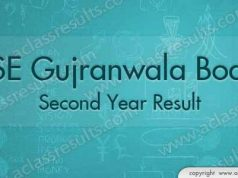 Gujranwala Board 2nd Year Result 2018