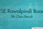 5th Class Result 2017 Rawalpindi board