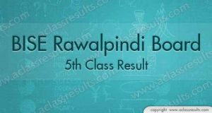 Rawalpindi board 5th Class Result 2018