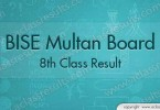 8th Class Result 2017 Multan Board