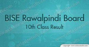 Rawalpindi 10th Class Result 2018