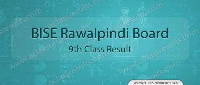 BISE Rawalpindi board 9th class result 2018