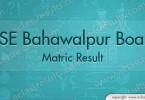 BISE Bahawalpur Matric Result 2017