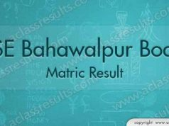 Bahawalpur Matric Result 2018