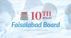 Faisalabad Board 10th Result