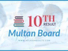 Multan Board 10th Result 2018