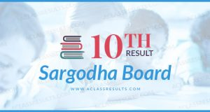 10th Class Result Sargodha Board